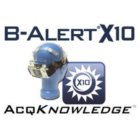 SISTEM B-Alert pentru achizitie Wireless a semnalului EEG